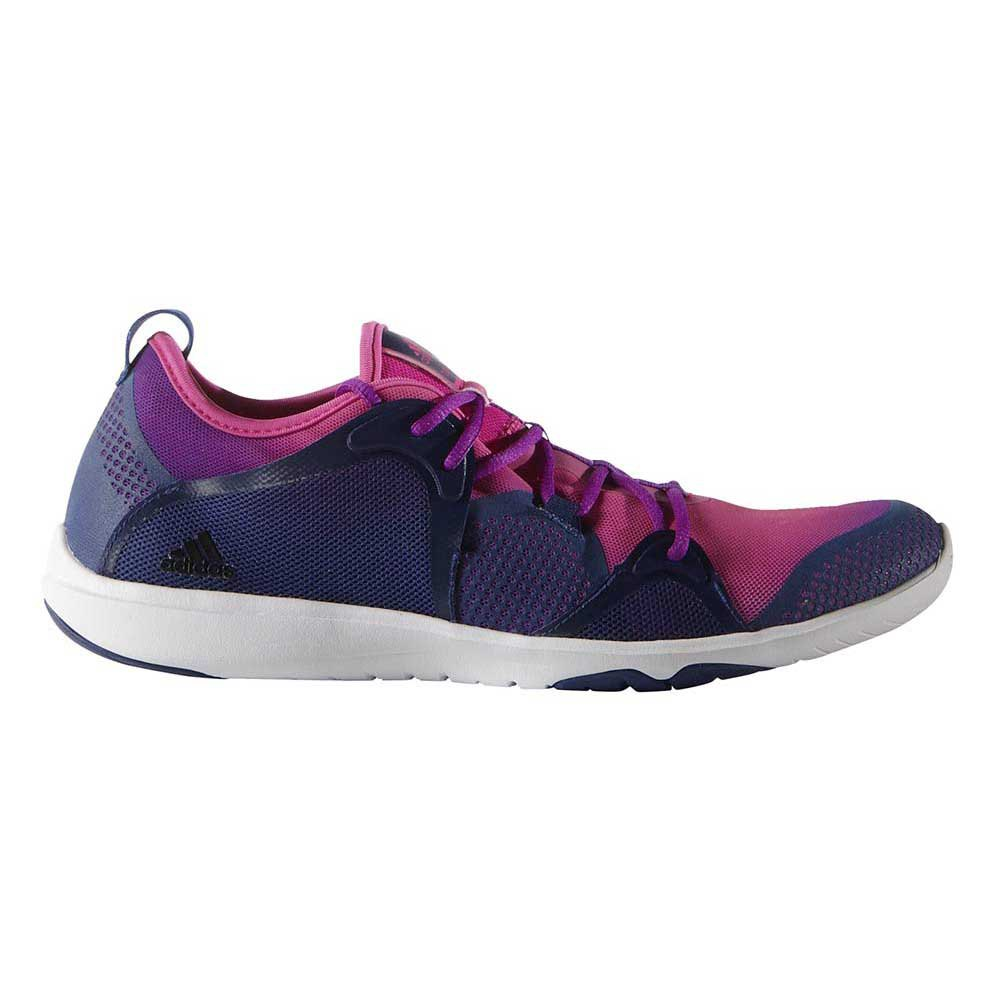 adidas adipure w shock rosa / nucleo nero / shock viola, traininn
