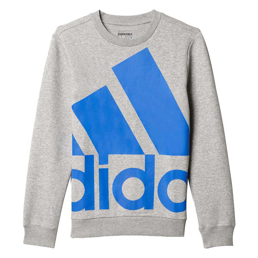 adidas Essentials Boys Oversized Logo Crew Sweat