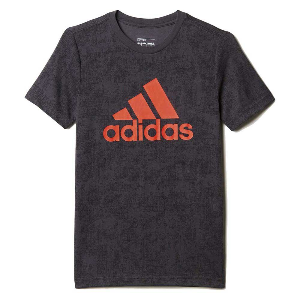adidas Boys Essentials All Over Printed Tee