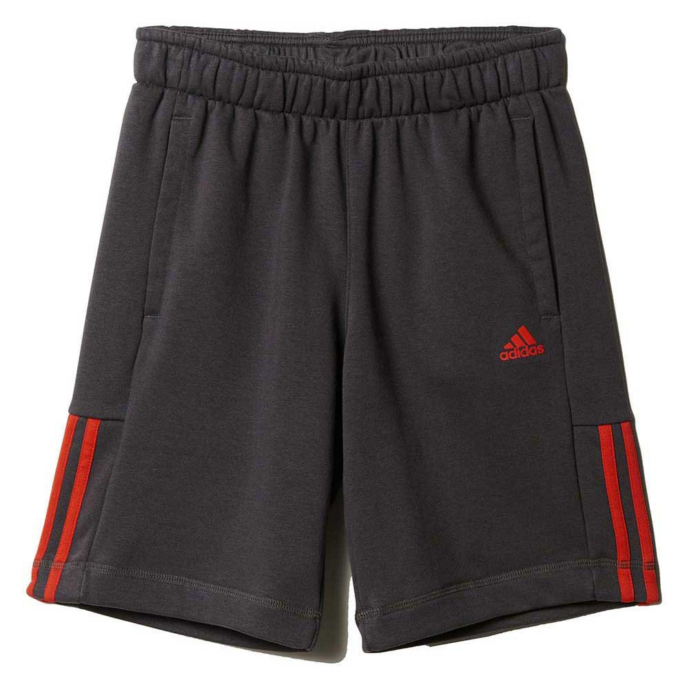 adidas Essentials Mid 3 Stripes Short