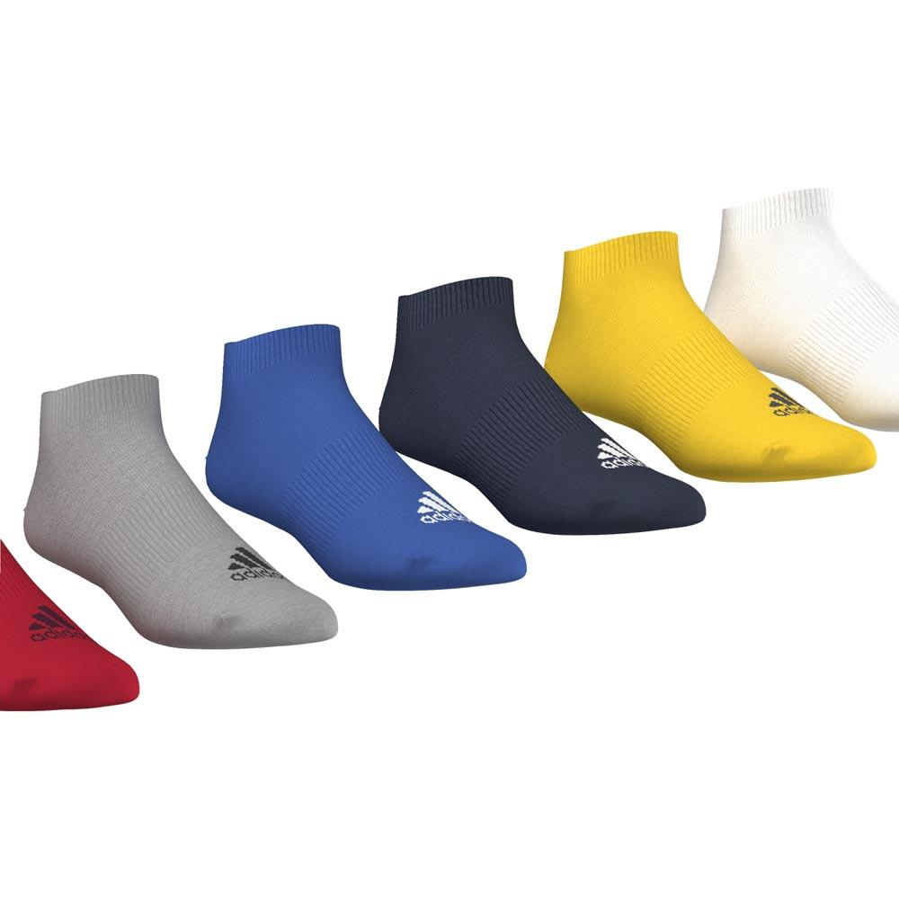 adidas Performance No Show Training Socks 6 Pairs