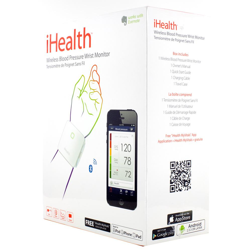 Ihealth Wrist Wireless Tensiometer