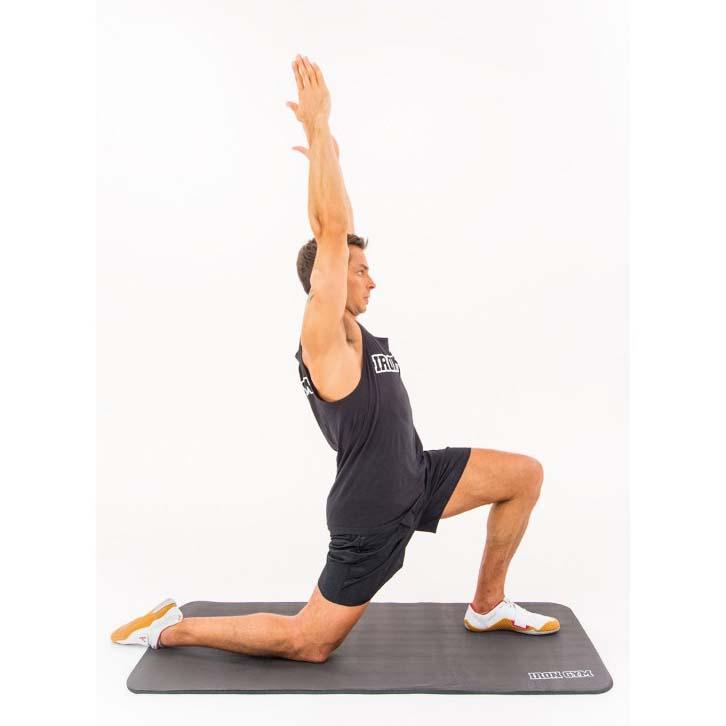 iron gym exercise yoga mat comprar y ofertas en traininn. Black Bedroom Furniture Sets. Home Design Ideas