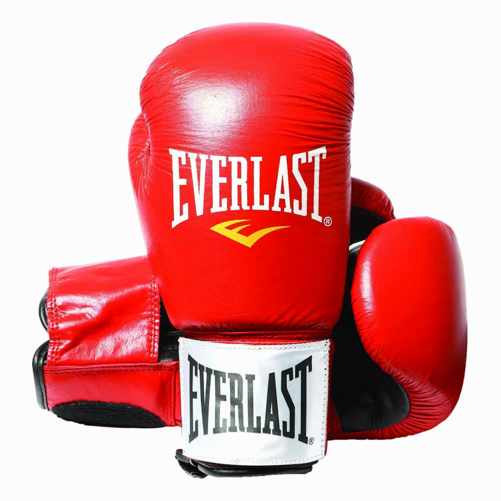 Everlast equipment Leather Boxing Gloves Fighter Red, Traininn