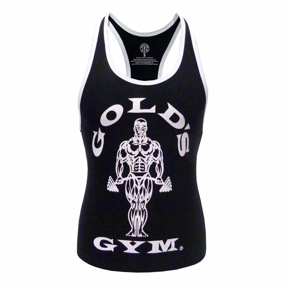 gold s gym stringer vest buy and offers on traininn. Black Bedroom Furniture Sets. Home Design Ideas