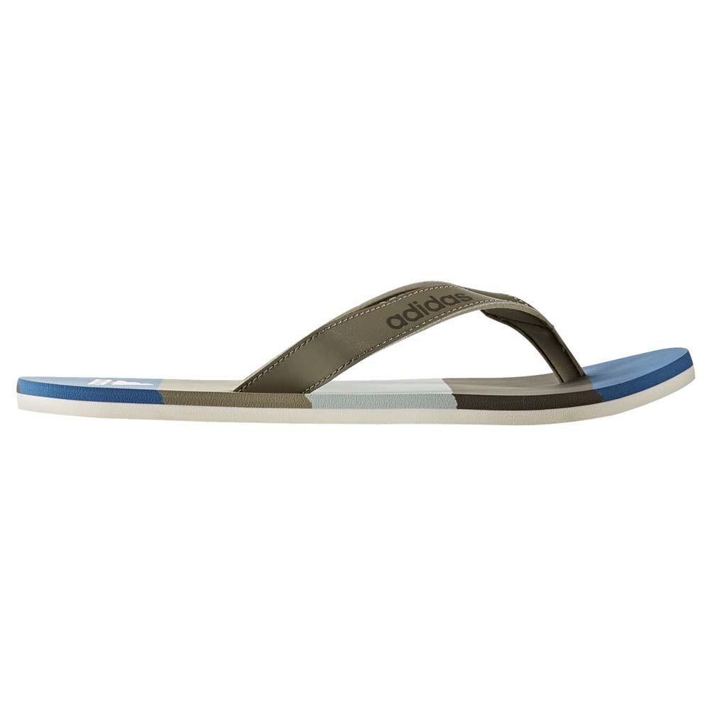 a2ddecd639167 low price adidas eezay essence womens flip flops white grey f7749 96c61   sweden adidas eezay striped aef89 69ebb