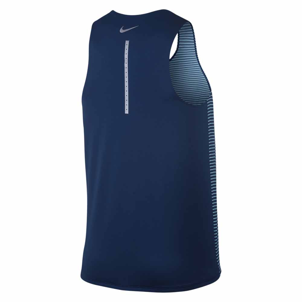 Nike Racing Print Singlet Blue buy and offers on Traininn ea1e2875780d