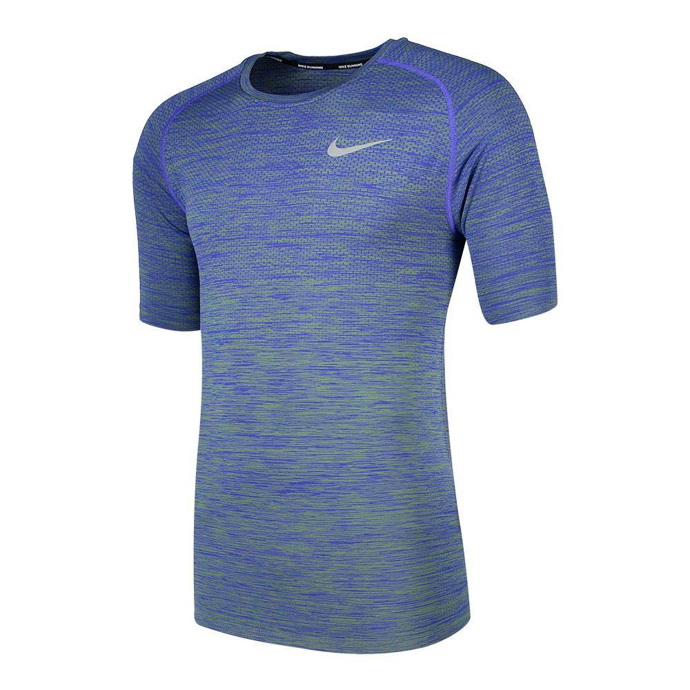 88d5dee3 Nike Dri Fit Knit S/S Top - Blue buy and offers on Traininn