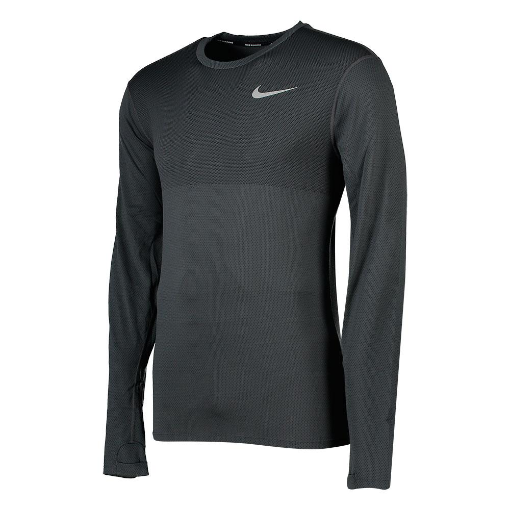 Nike Zonal Cooling Relay L/S Top グレー