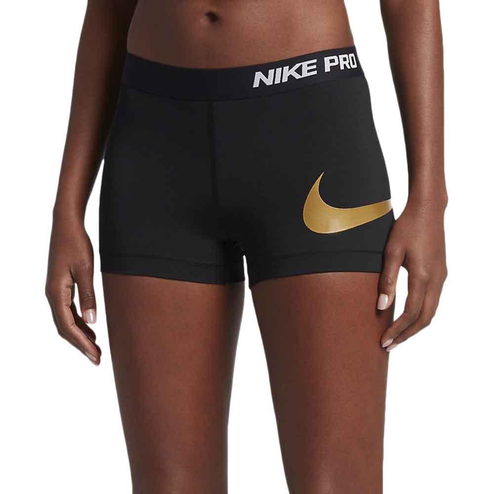 508a880155a78e Nike Pro Cool 3 Inches Metallic Logo Short Pants