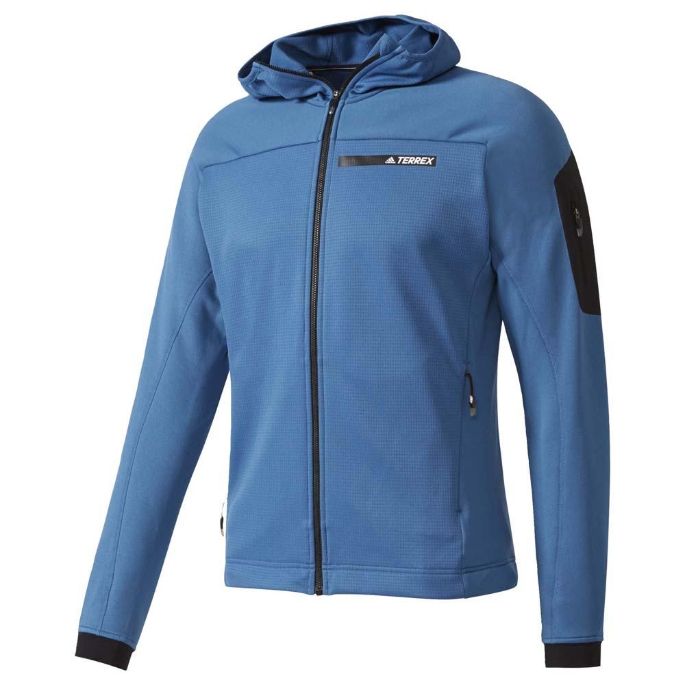 Adidas Terrex Stockhorn Fleece Hooded Jacket Fleecejacke