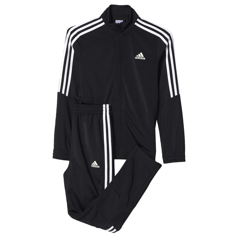 4eff0d71 adidas Tiro Tracksuit Black buy and offers on Traininn