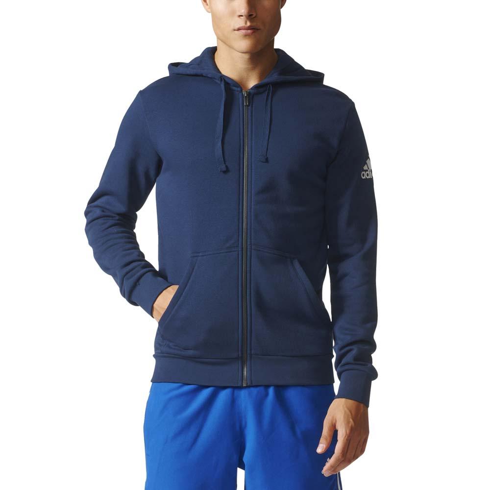 size 40 5f184 59101 ... adidas Essentials Base Full Zip Hood Fleece ...