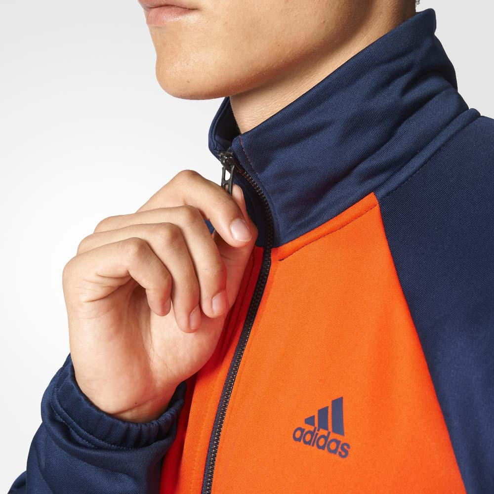 adidas orange tracksuit