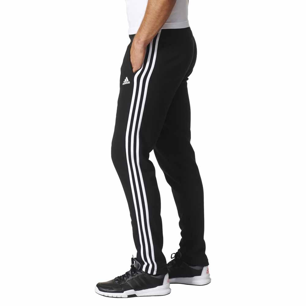 f19e11c5d6722 adidas Essentials 3 Stripes Tapered Pants Regular Черный, Traininn Штаны