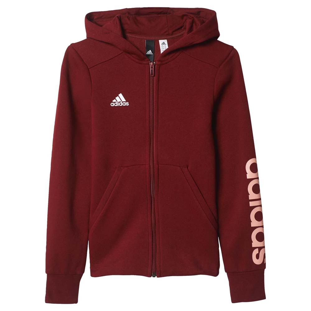 adidas Essentials Linear Full Zip Hoodie 542321d8ec0