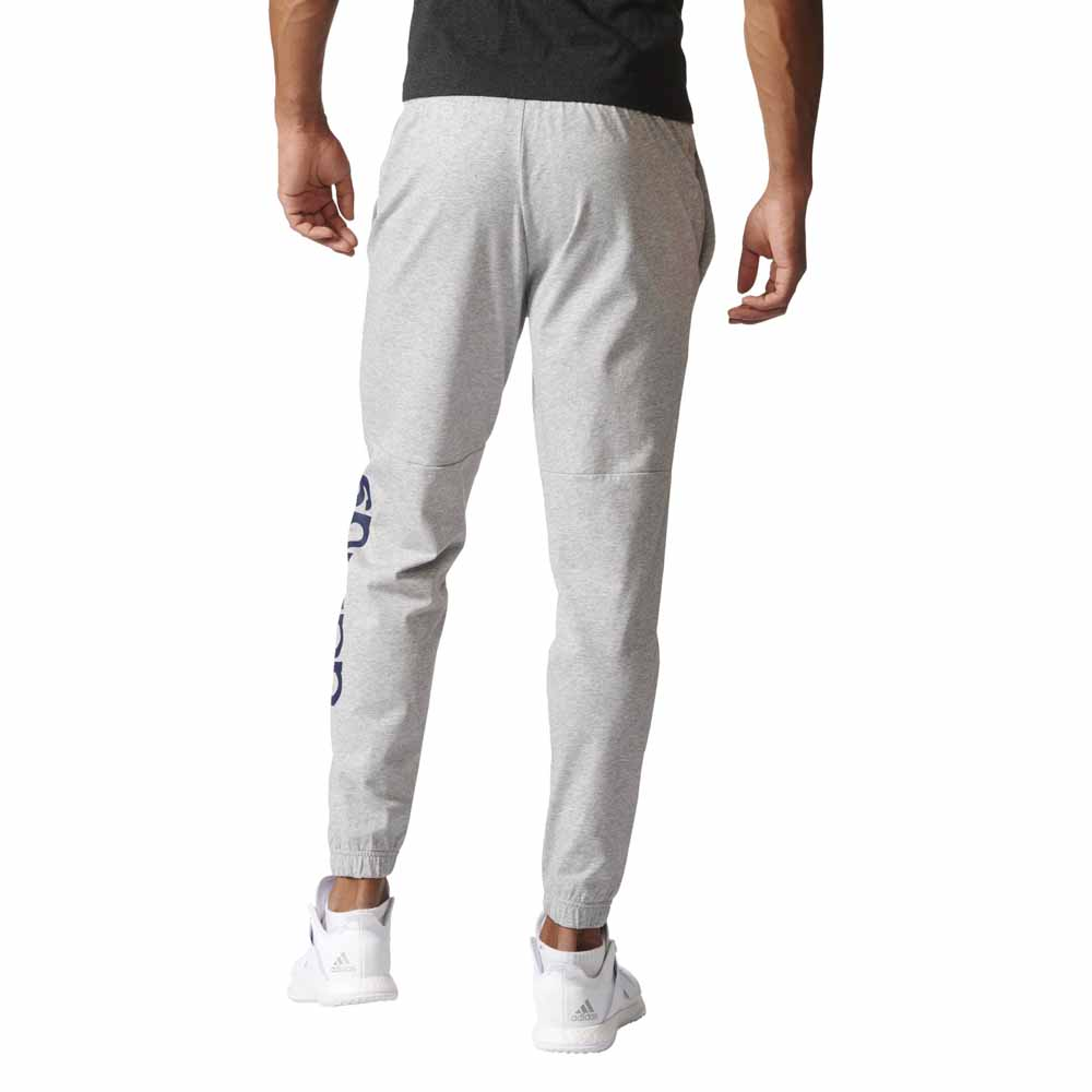 9c63b507b adidas Essentials Linear Tapered Single Jersey Pants Grey, Traininn