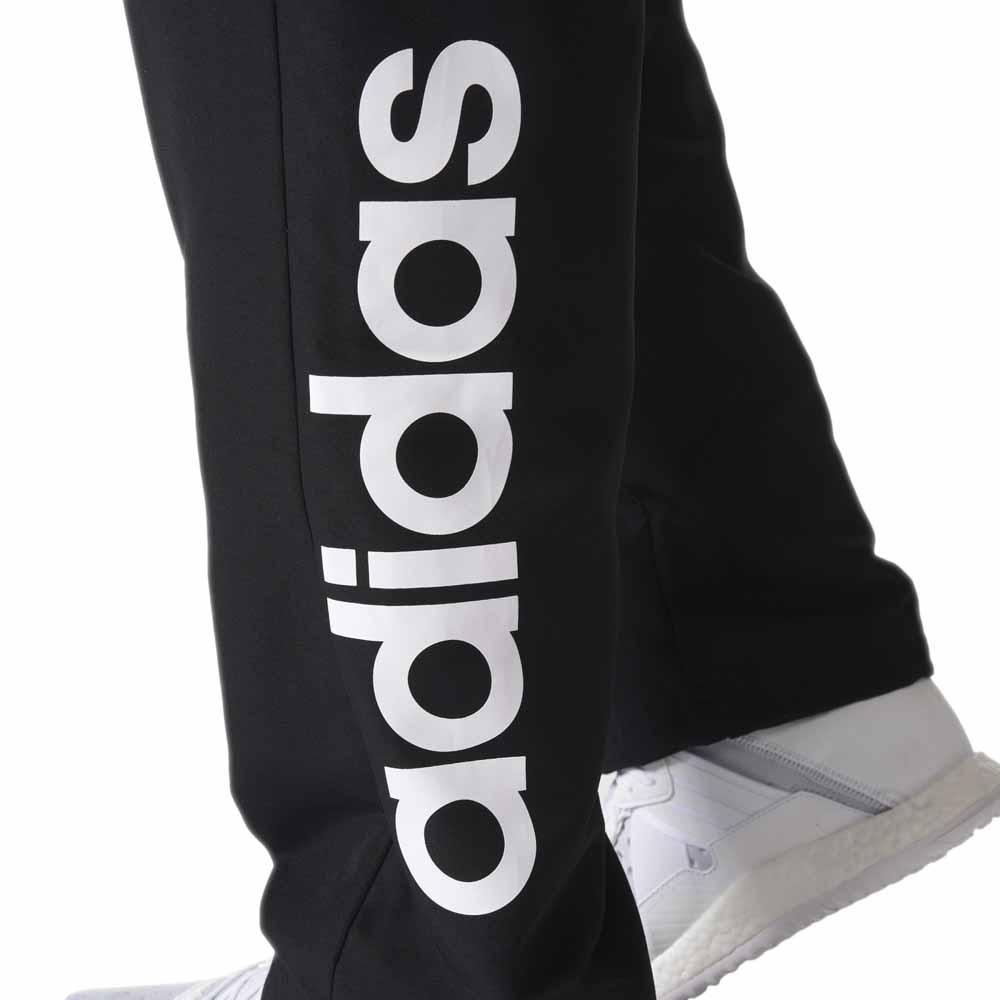 Moletom Adidas Essentials Linear Feminino Preto e Branco