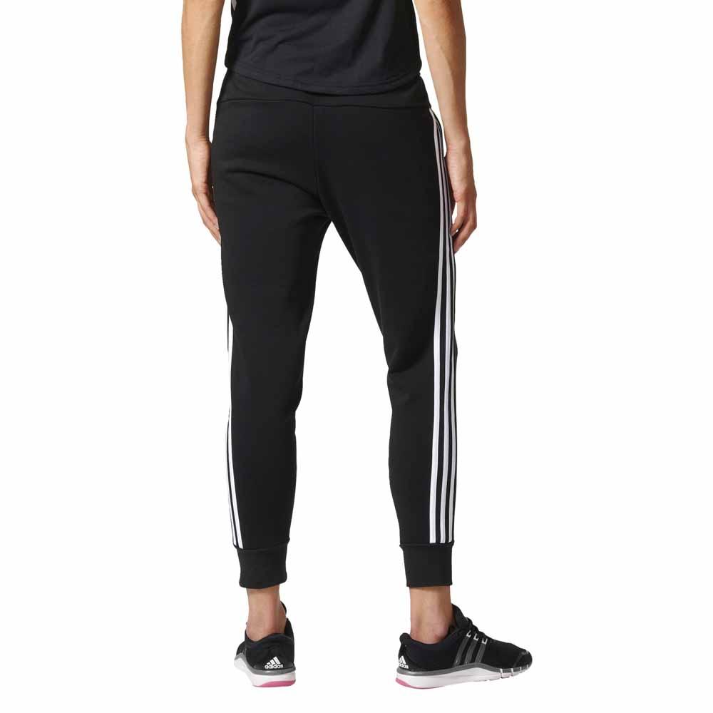 4af01c1bd0344 adidas Essentials 3 Stripes Tapered Pants Black, Traininn