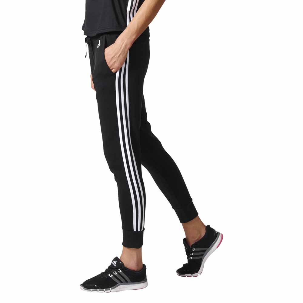 adidas Essentials Tapered Pants Schwarz | adidas Deutschland