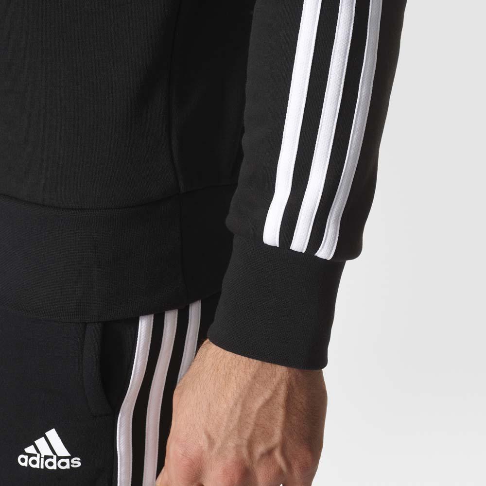 adidas Essentials 3 Stripes Crew French Terry
