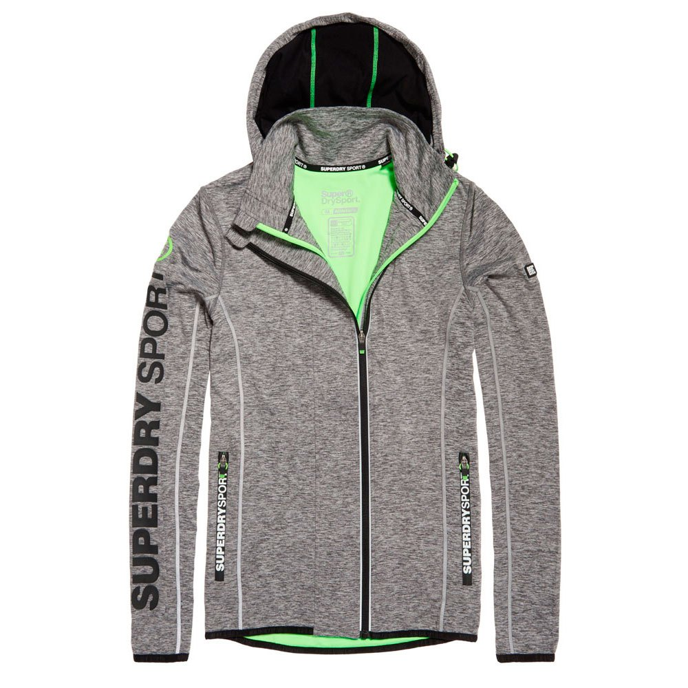 superdry sports panel ziphood
