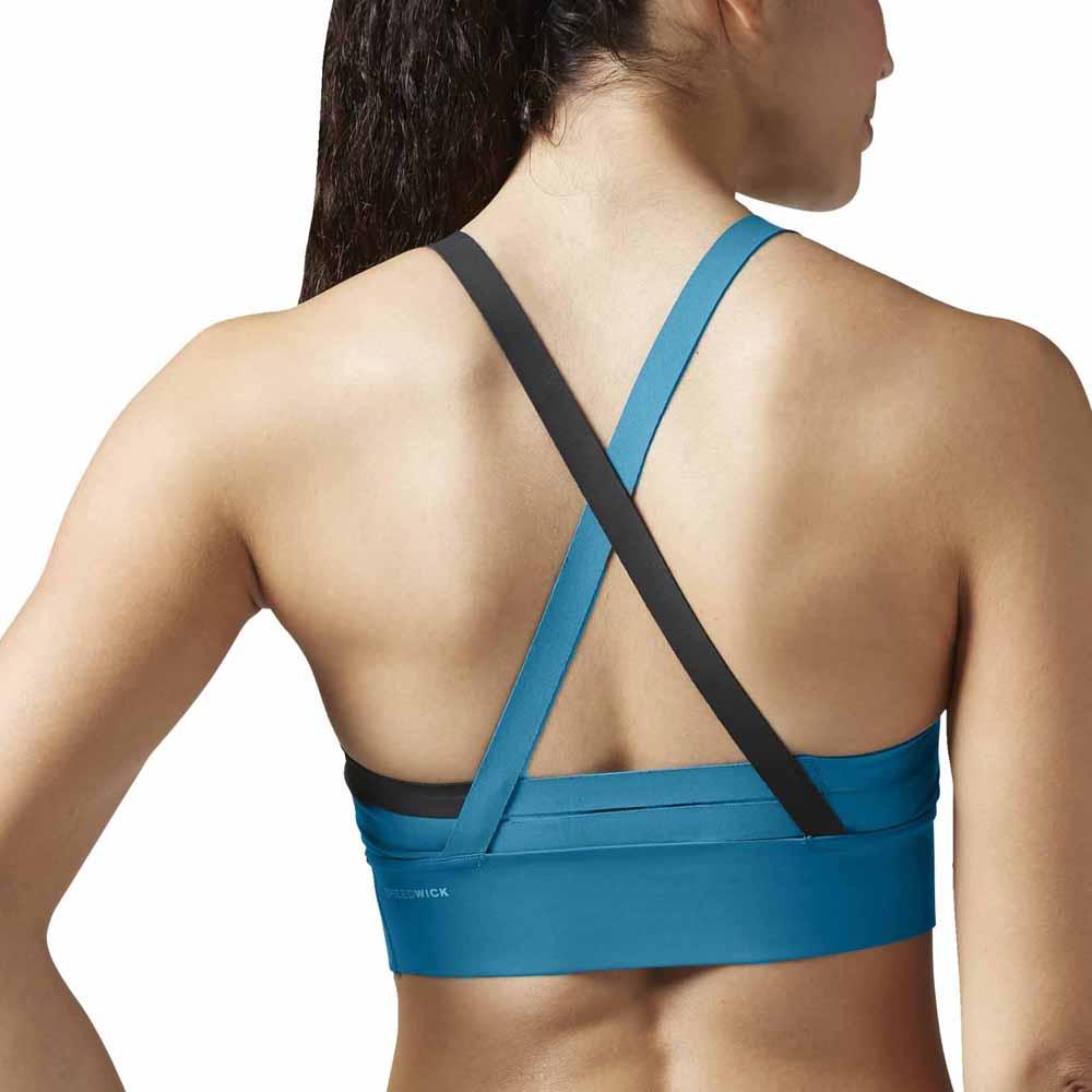 eba4781ccab21 Reebok Cardio Strappy Bra Padded buy and offers on Traininn