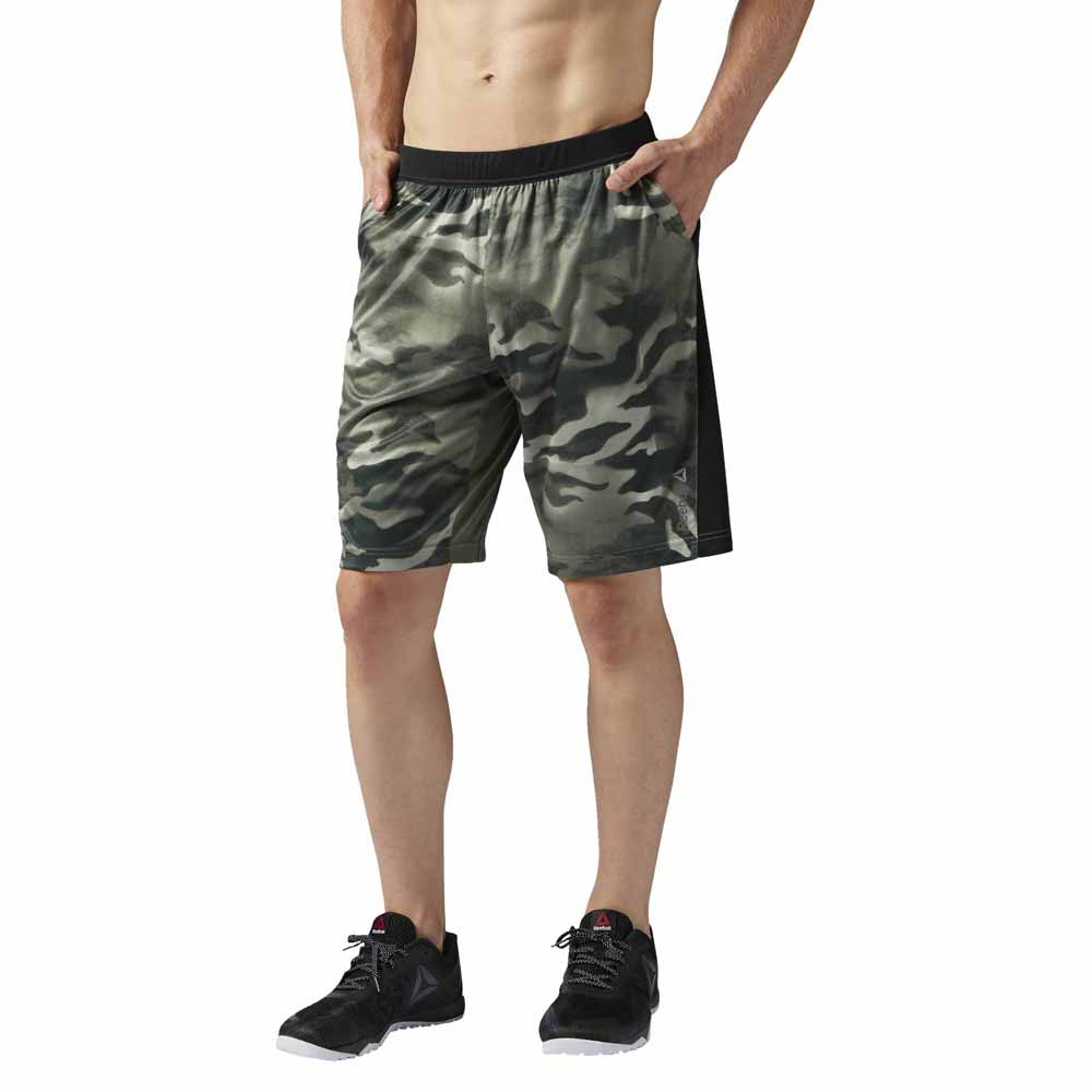 1ee05ed39 Reebok Spray Camo Knit Force Short buy and offers on Traininn