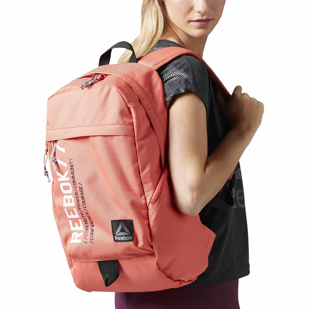 reebok backpack brown