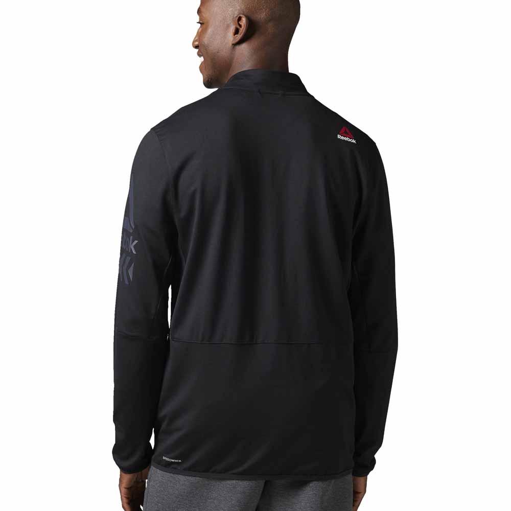 reebok jacket. reebok brushed track jacket