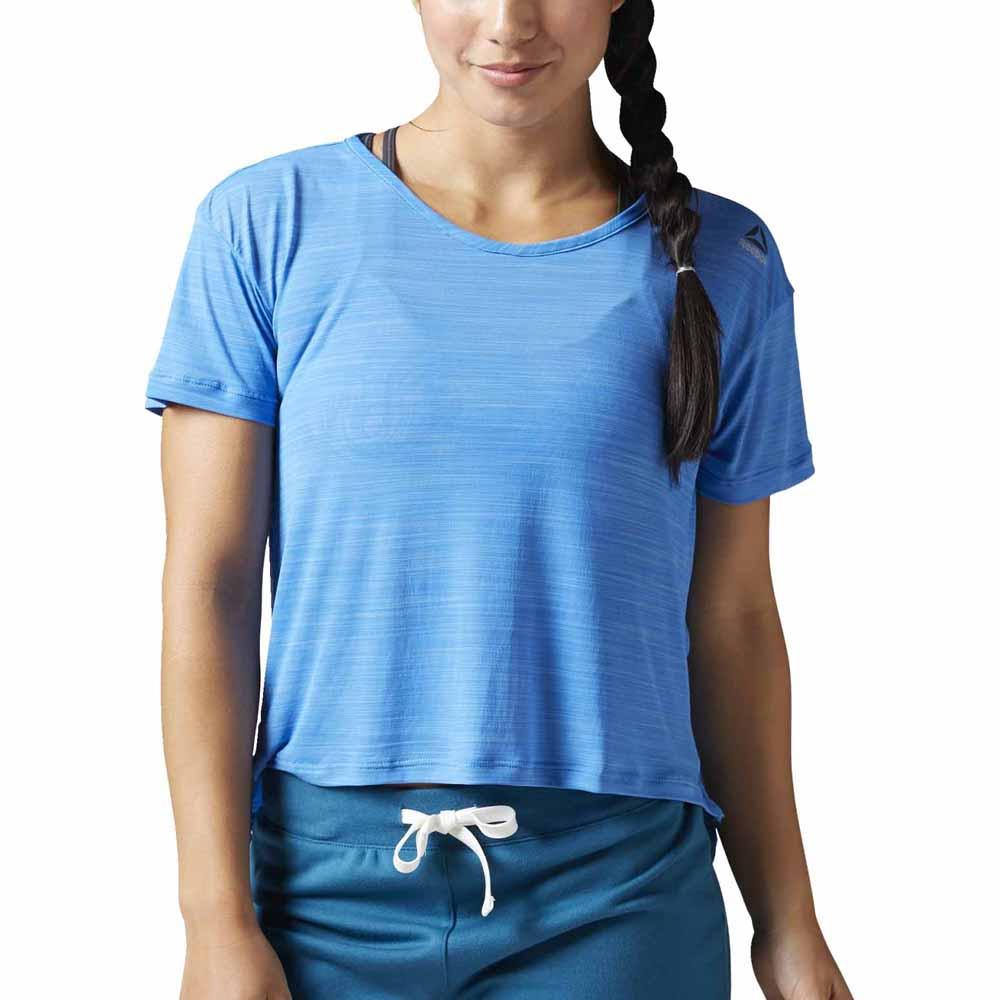 65f945bb1 Reebok Workout Ready Activchill Slub Tee Blue