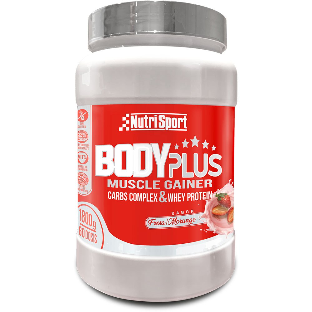 Nutrisport Bodyplus Strawberry 1.8kg