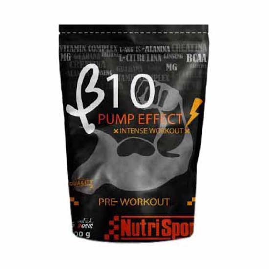 Nutrisport B10 Pump Effect Strawberry 500gr