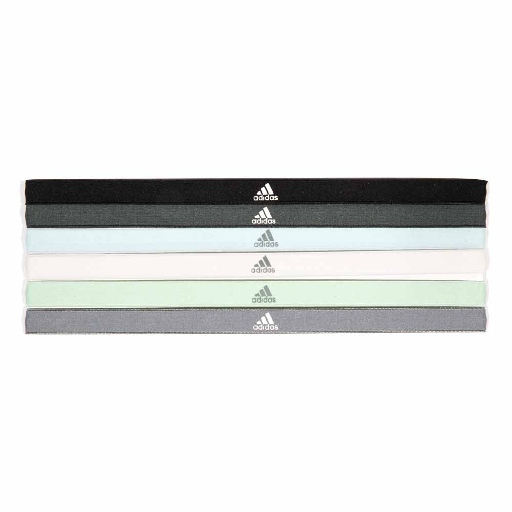 adidas Sports Hair Bands 6 Pack