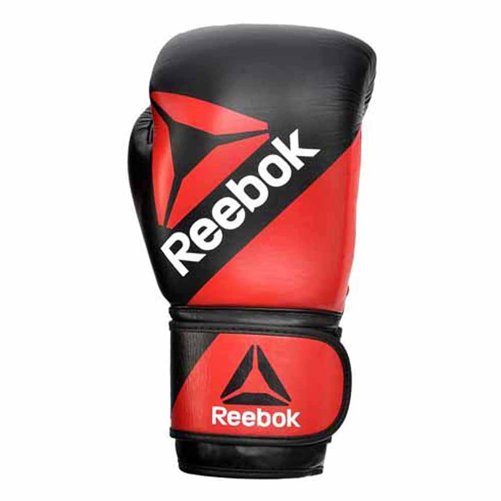 Guanti da combattimento Everlast Equipment Boxing Gloves Rodney Black Red