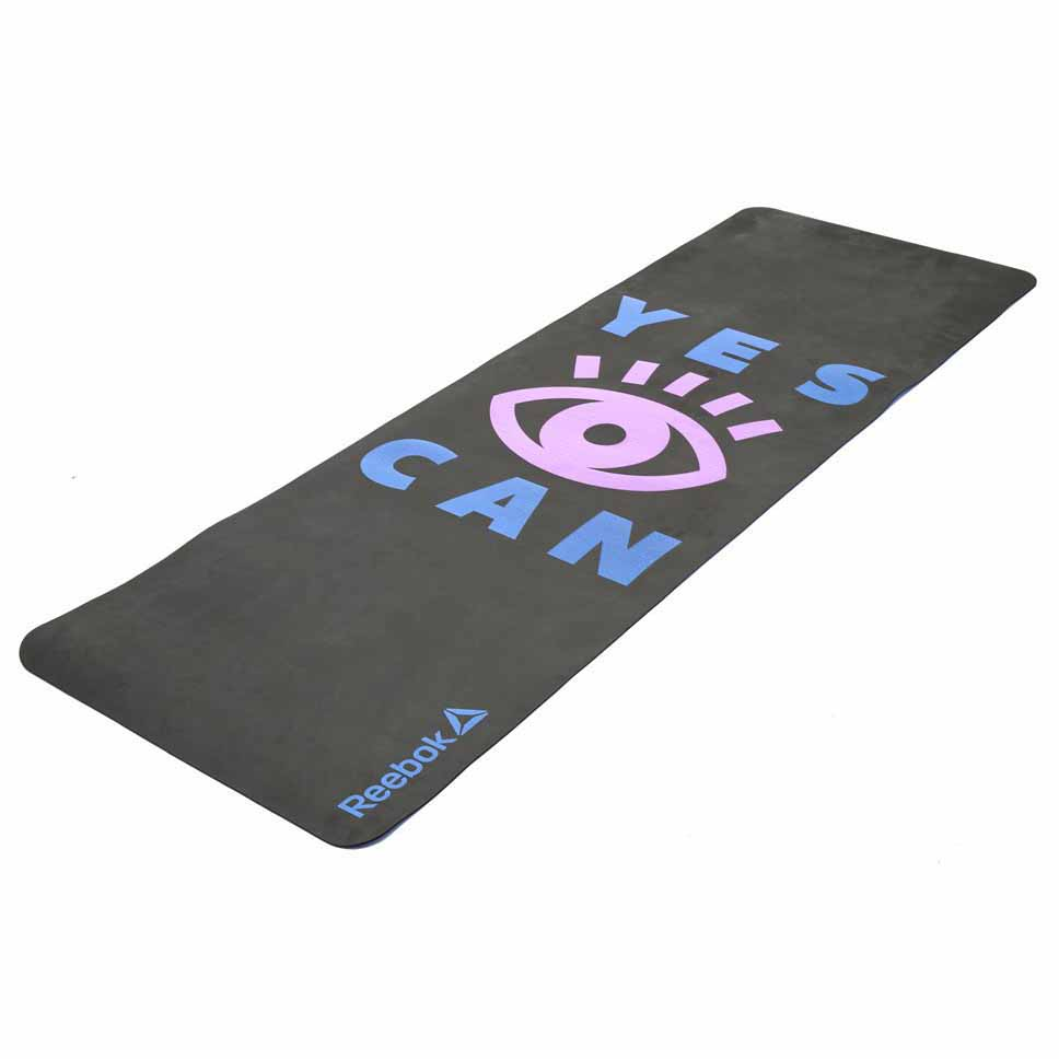 Reebok Yoga Mat Yes I Can Black Buy And Offers On Traininn