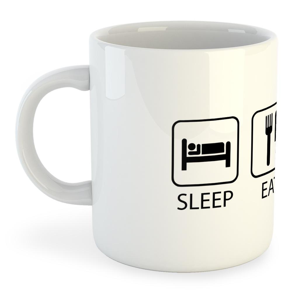 Tasse Sleep Eat And Train