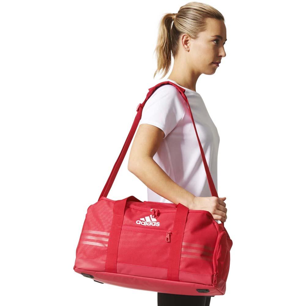 9e6390929 3 Stripes Performance Team Bag S Energy Pink / Energy Pink / White ...