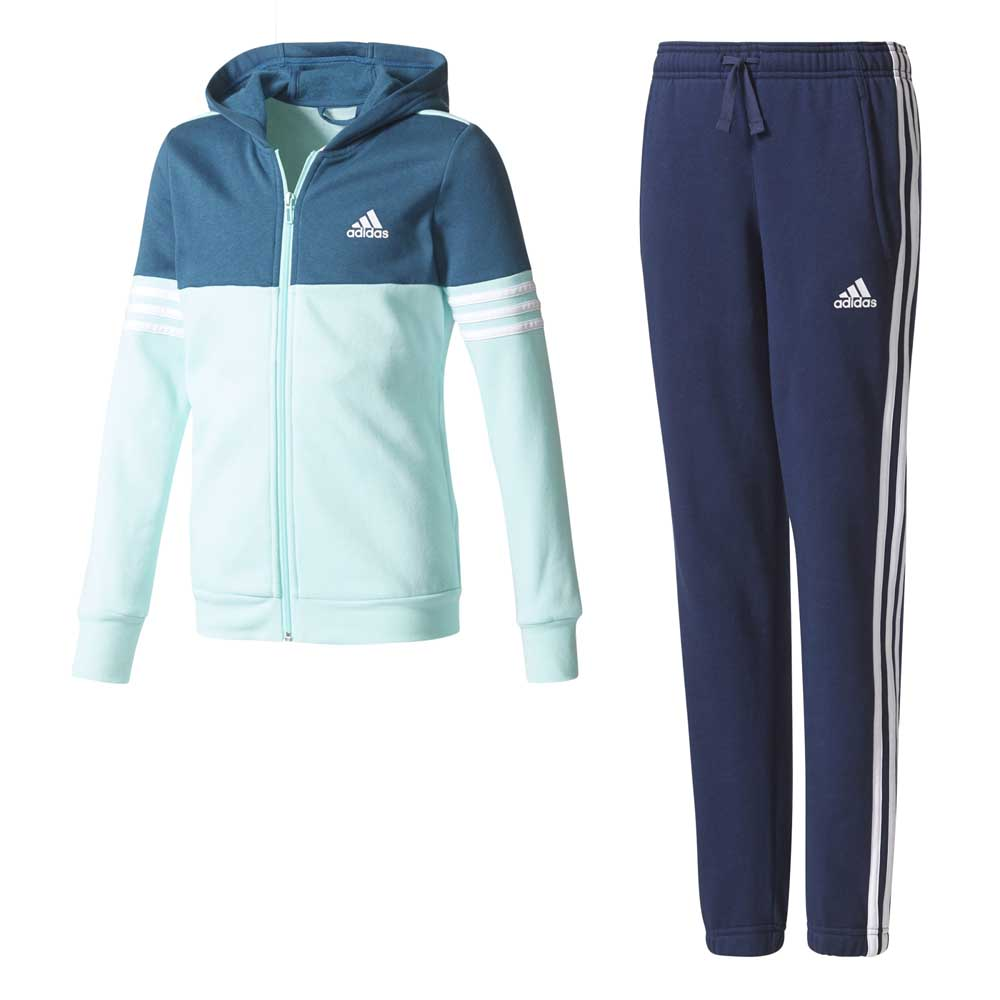 79579adaaf3 adidas Hooded Cotton Tracksuit buy and offers on Traininn