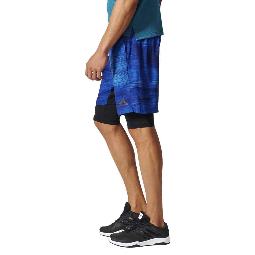 adidas 2 in 1 shorts. adidas speedbreaker climacool 2 in 1 gfx shorts t