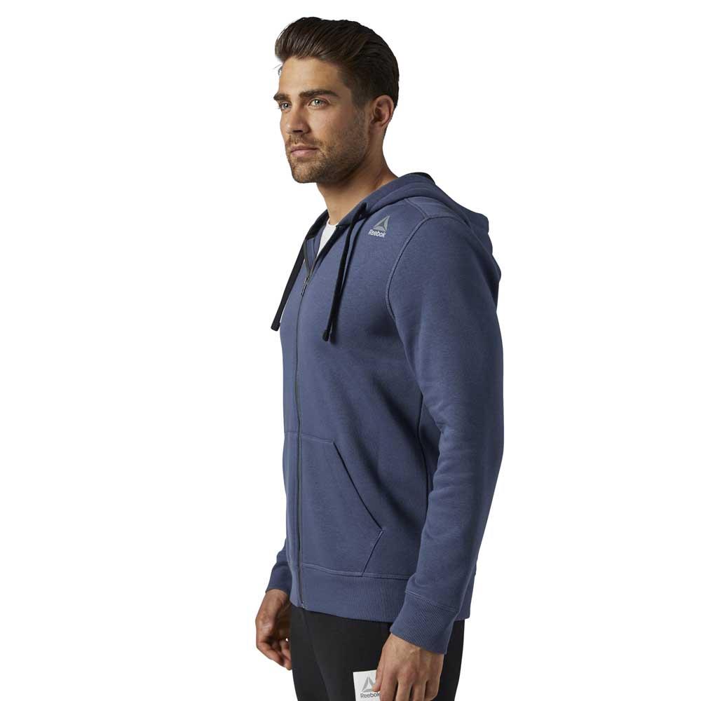 Reebok Elements Fleece Full Zip Hoodie