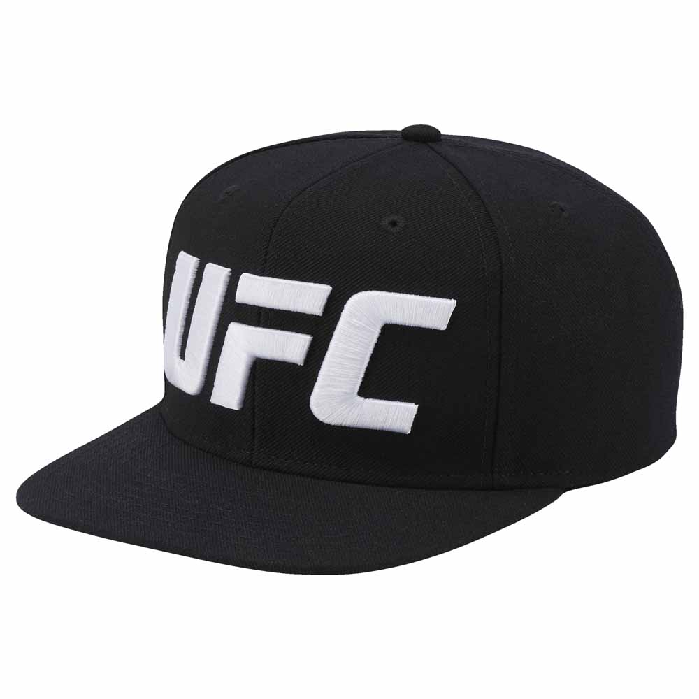 ebe1445caa4c82 Reebok UFC Over Sized Logo Flat Brim Black, Traininn