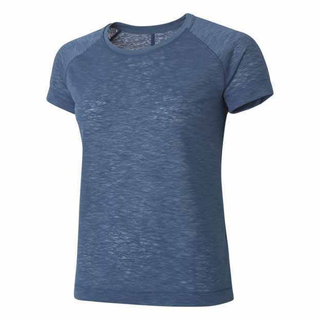 Casall Textured Loose Tee Blue buy and offers on Traininn 3c749009d203