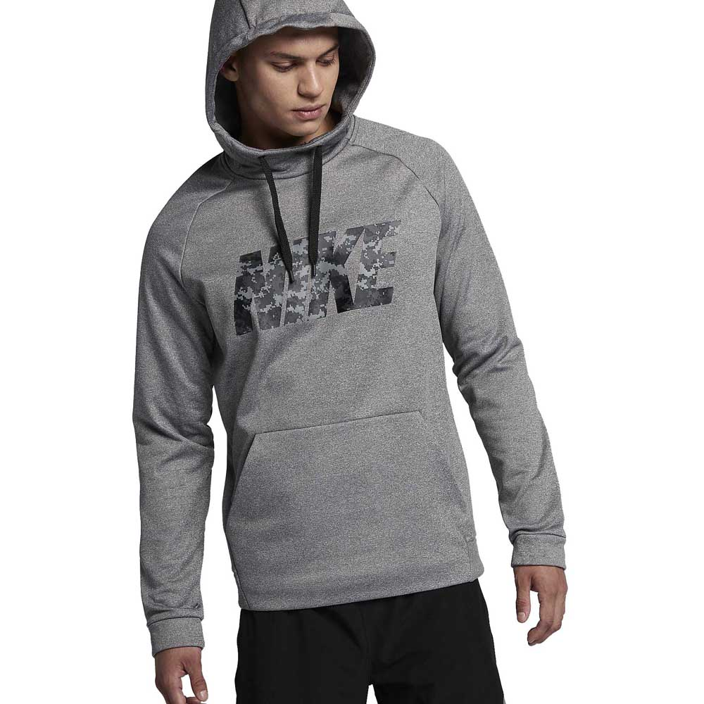 3d2688c0d8c0 Nike Thermal Hoodie Camo Grey buy and offers on Traininn
