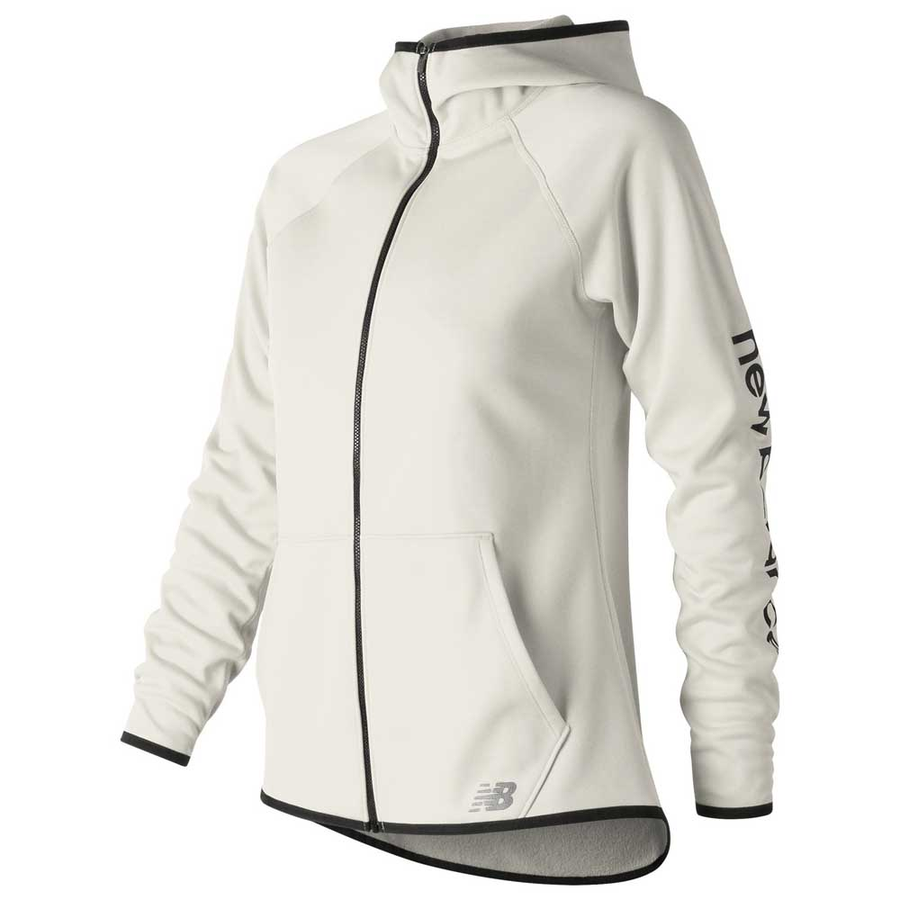 4fea24c466220 New balance Core Fleece White buy and offers on Traininn