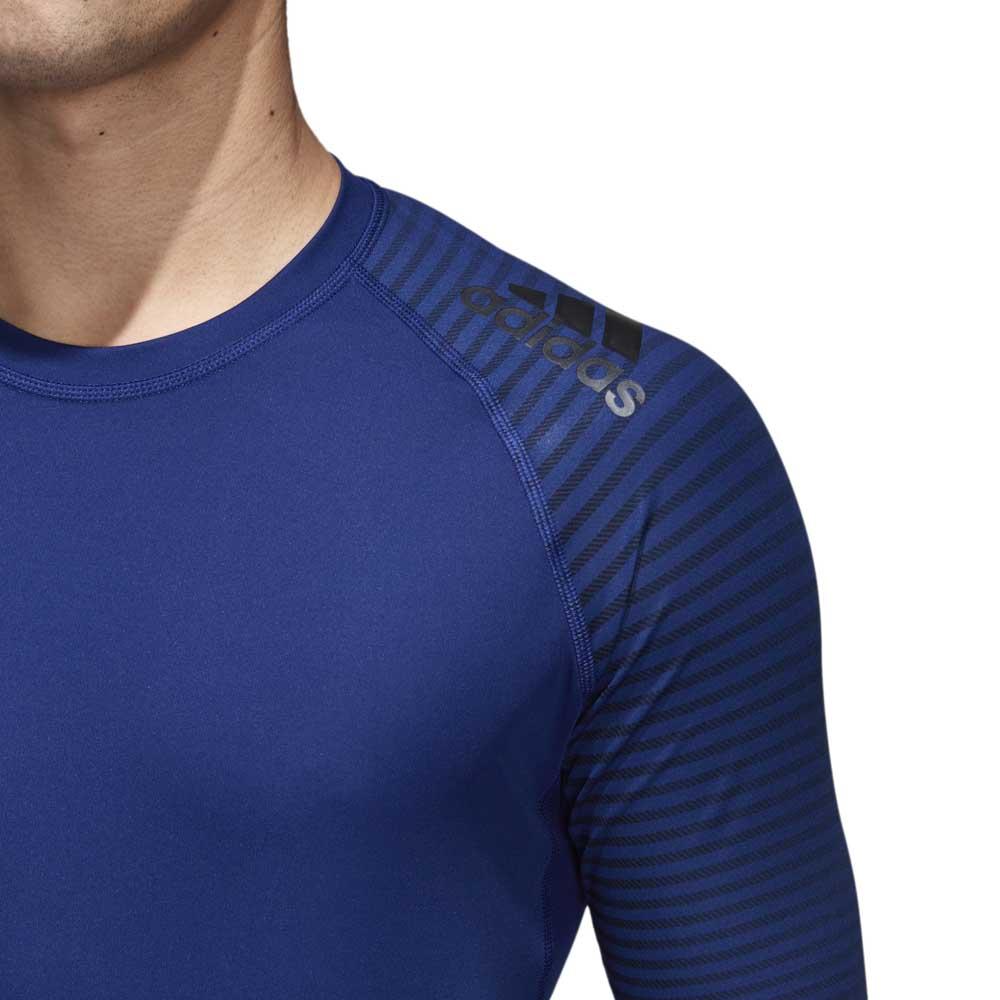 adidas Alphaskin Sport Graphic Azul b43fa69ea674e