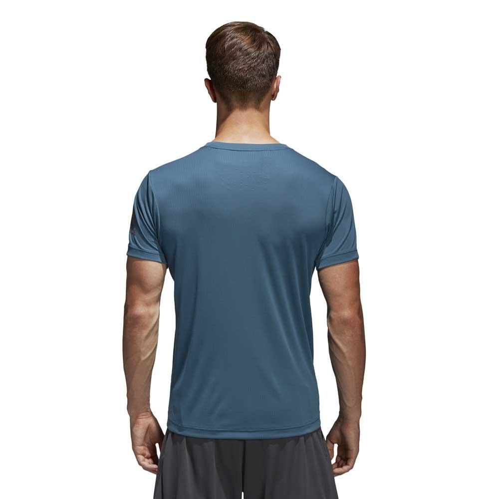 Køb Adidas FreeLift Climachill Tee T shirt til Mænd Blå online