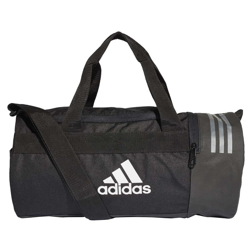 48d91ca560eb adidas Convertible 3 Stripes Duffel XS Black
