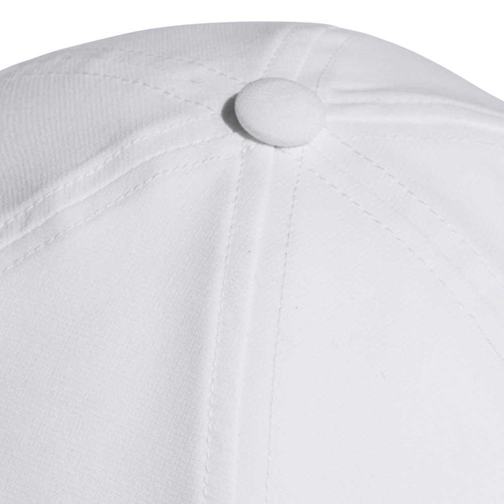 02ba6d7877f51 adidas C40 6 Panel 3 Stripes Climalite White
