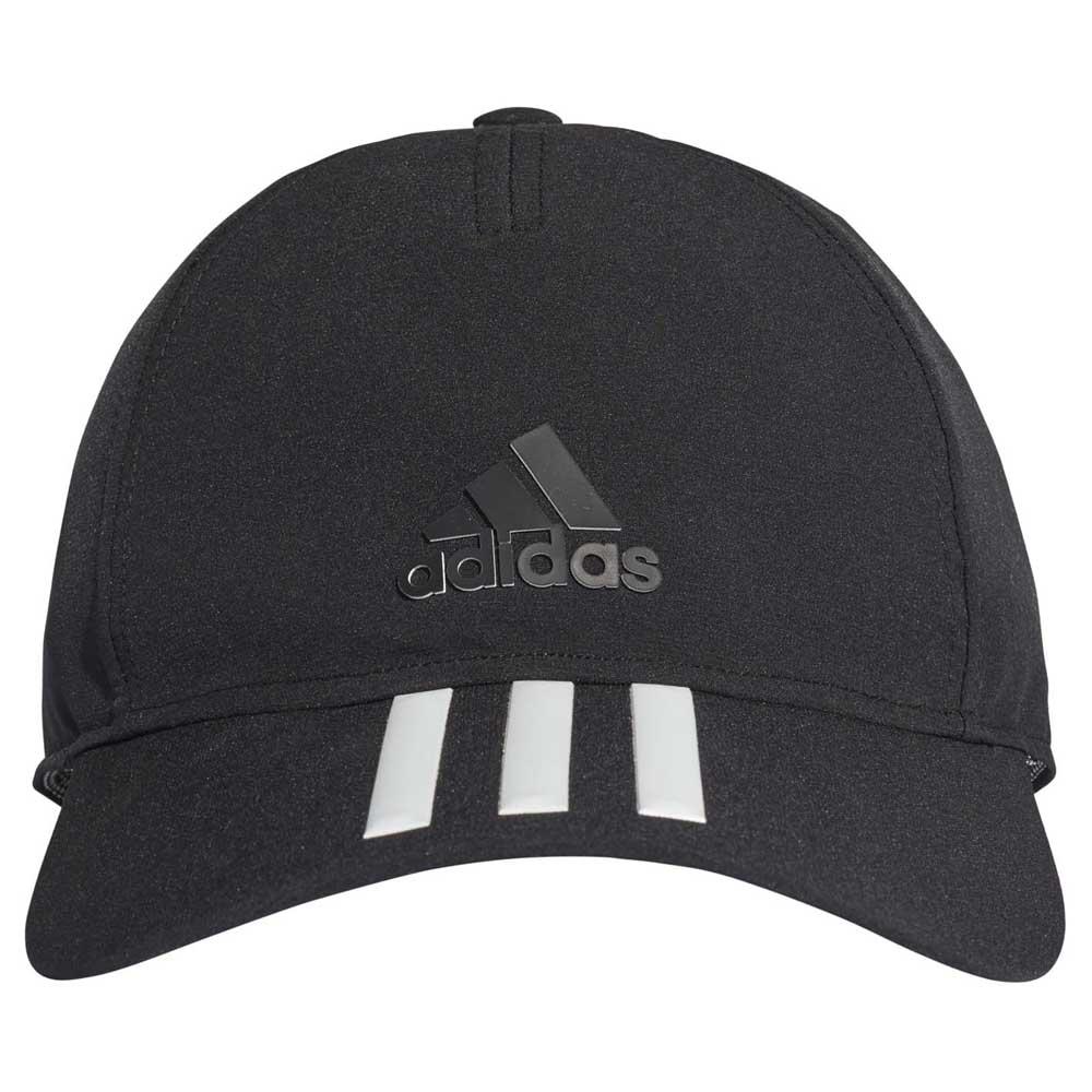 9f90b5b260d adidas C40 6 Panel 3 Stripes Climalite Black